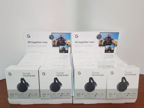 google chromecast 3 - 2018 - hdmi smart tv - youtube - nuevo