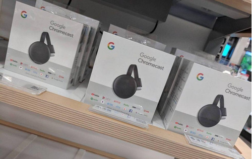 google chromecast 3 fhd hdmi streaming media player, carbón