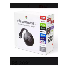 Google Chromecast 3 Full Hd 1080p Original Pronta Entrega
