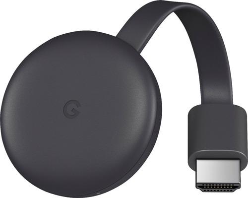 google chromecast 3 generación / blanco y negro / iprotech