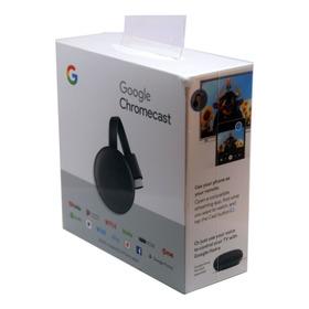 Google Chromecast 3 Generacion Nuevo En Caja Hdmi C/ Fuente