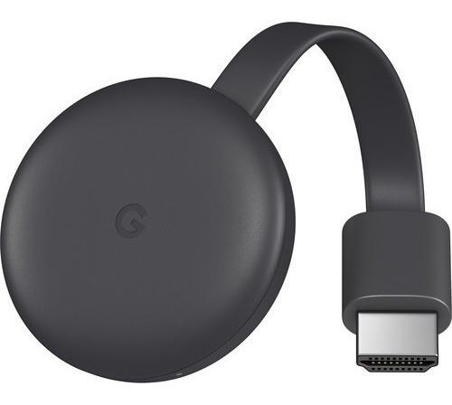 google chromecast 3 generacion smart tv original + fuente