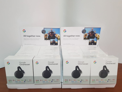 google chromecast 3 generacion tv hdmi en caja 100% original