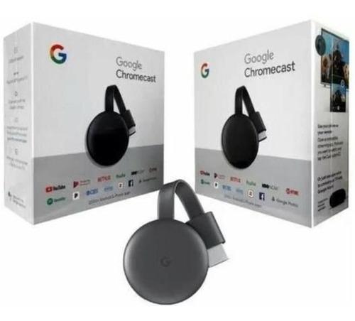 google chromecast 3 hdmi 1080p novo original