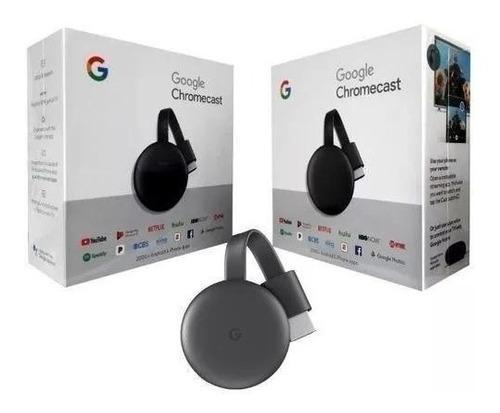 google chromecast 3 hdmi edição 2019 original 1080p