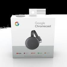 google chromecast 3 hdmi streaming media player lcd smart tv
