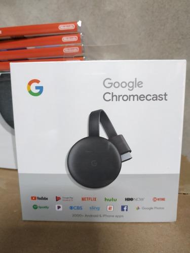 google chromecast 3 / modelo ga00439-us