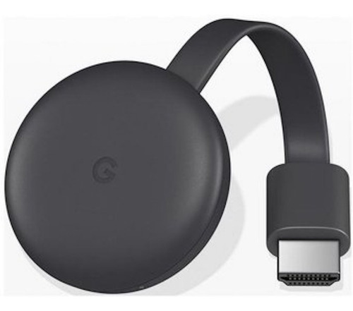google chromecast 3  negro nuevo 6 cuotas envíos todo chile