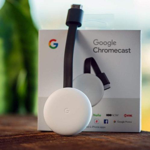 google chromecast 3 smart tv hdmi usb incluye fuente