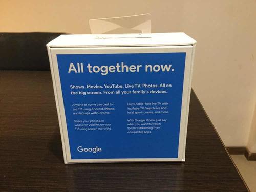 google chromecast 3 smart tv hdmi usb nuevo modelo