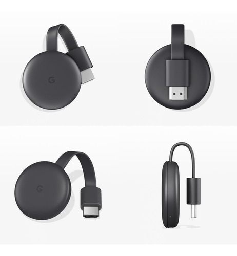 google chromecast 3era generación original smarttv hd wifi