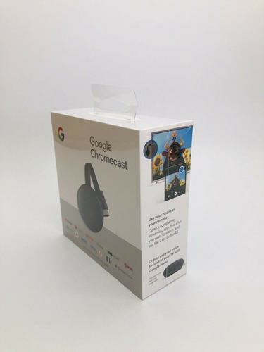 google chromecast 3g hdmi smart tv (android y apple)