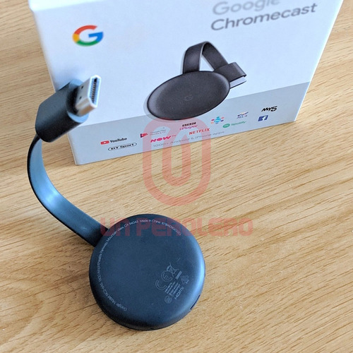 google chromecast 3ra generación full hd original