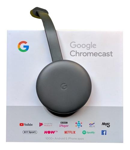 google chromecast 3ra generación full hd somos tienda