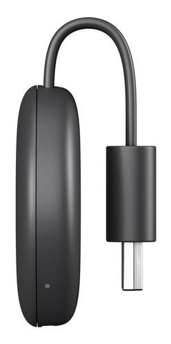 google chromecast charcoal, 3ra generación
