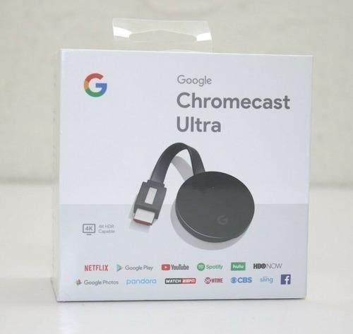 google chromecast ultra 4k netflix youtube smart tv masplay
