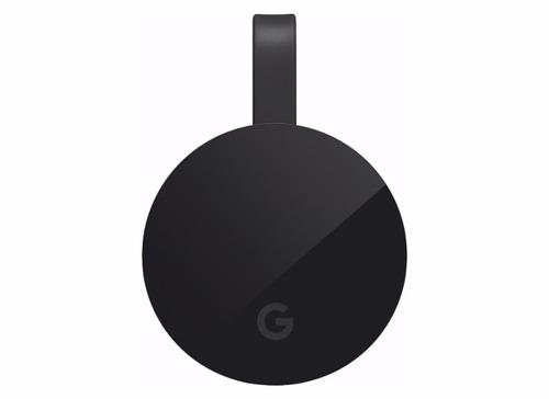 google chromecast ultra 4k wi fi hdmi/hd e hdr - preto