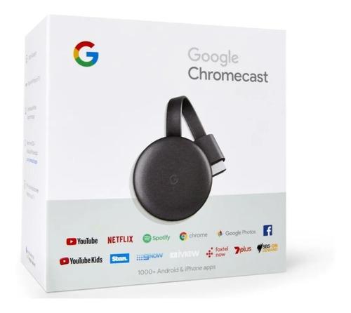google - chromecast video (3ra generación)