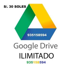 Google Drive Almacenamiento Ilimitado A Su Cuenta Gdrive
