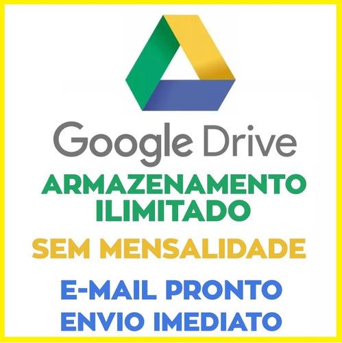 google drive ilimitado - armazenamento ilimitado, backup gg