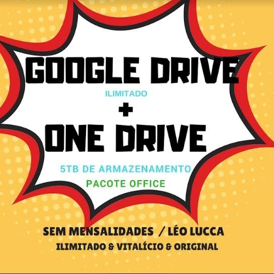 Google Drive Ilimitado + Onedrive 5tb