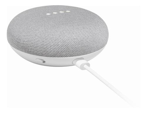 google home mini asistente de voz gris