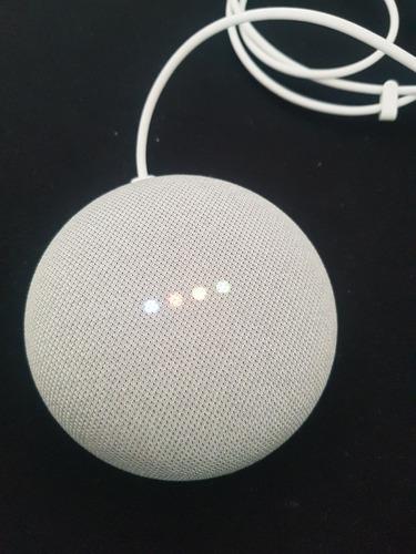 google home mini chalk (importado)