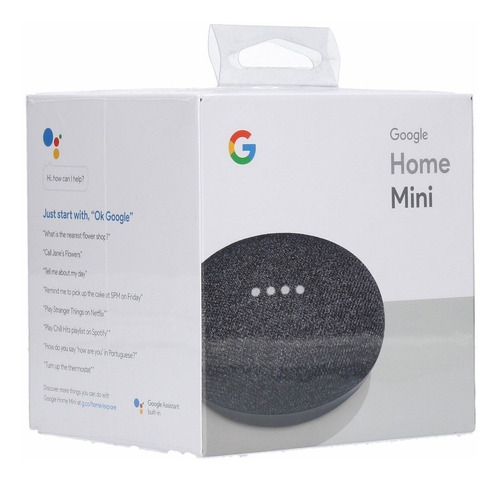 google home mini charcoal smart assistant no chromecast