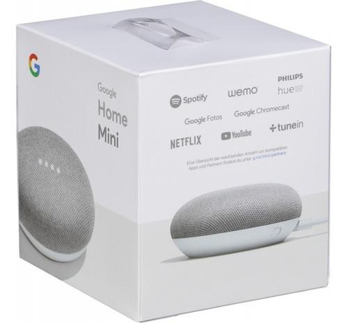 google home mini parlante en español asistente virtual ghm