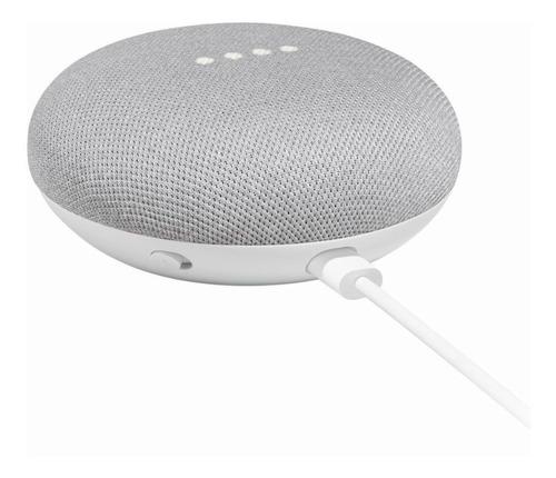 google home mini parlante inteligente chalk  mrclick