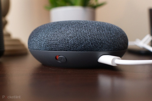 google home mini speaker corneta inteligente org importado