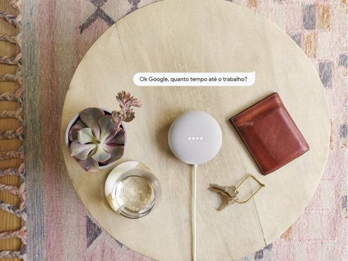 google nest mini - assistente pessoal (wi-fi, bluetooth)