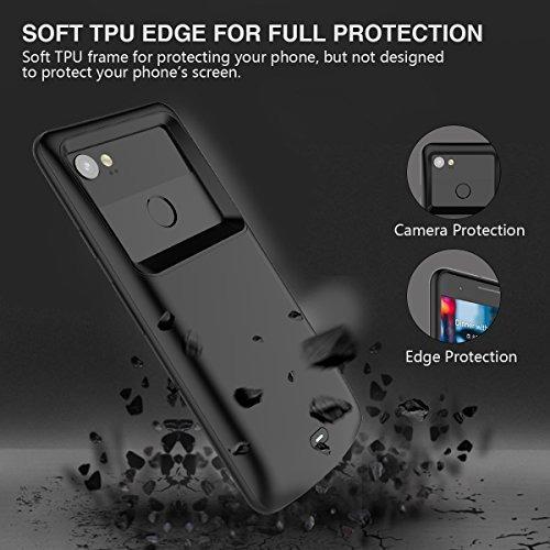 designer fashion 78b85 54b29 Google Pixel 2 Xl Battery Case, Newdery Pixel 2 Xl 5200mah C