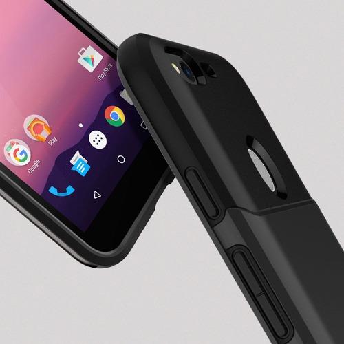 google pixel y xl spigen slim armor carcasa protectora case