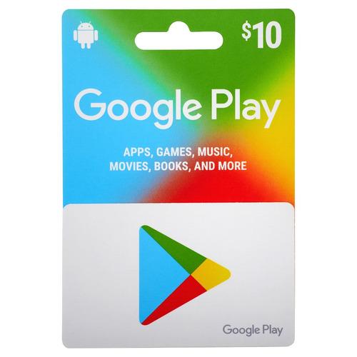 google play 10$ región us