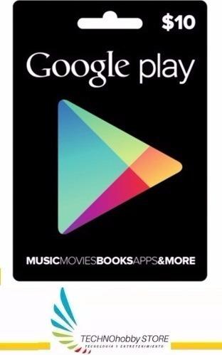 google play store 10 usd gift card tarjeta entrega inmediata