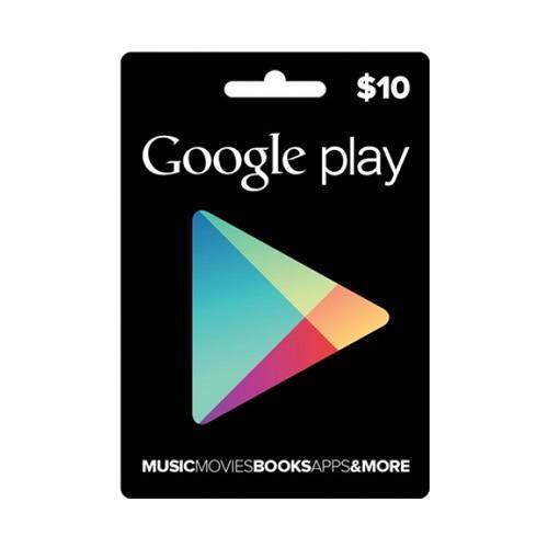 google play store 10 usd tarjeta juego inmediato