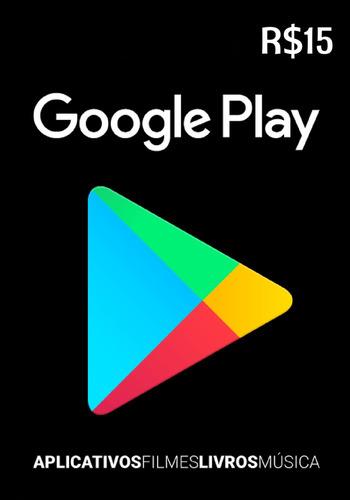 google play store r$15 - brasil