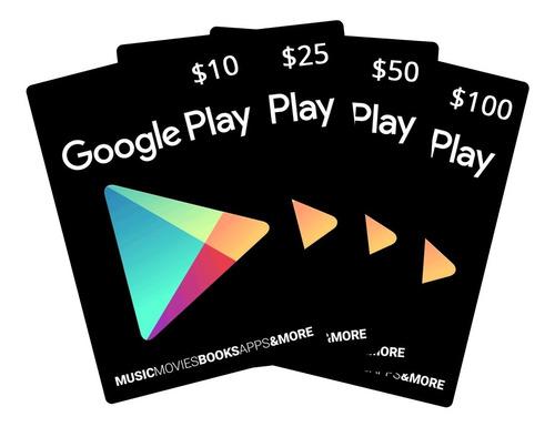 google play tarjeta de regalo 10$ - entrega rápida