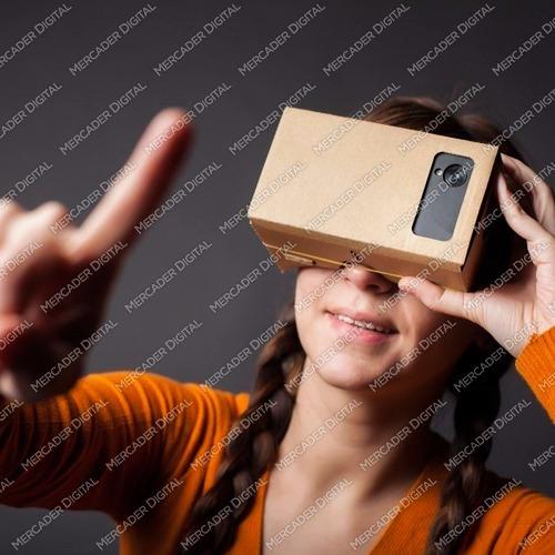 google realidad virtual lentes