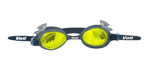googles natación niño splash silicón anti vaho gris voit
