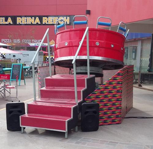 gool sale - samba - relojito - escalador - cancha inflable