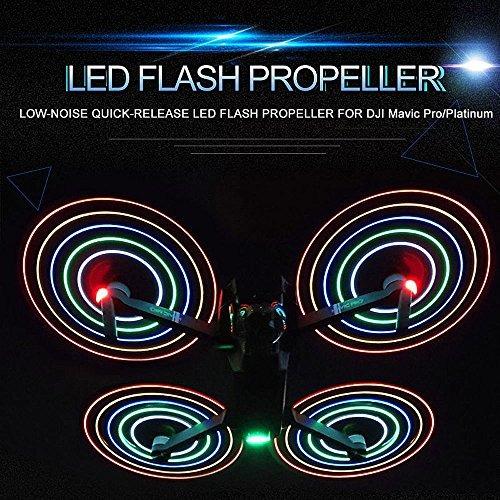 goolrc 2 par led flash lownoise hélice de liberación rápi