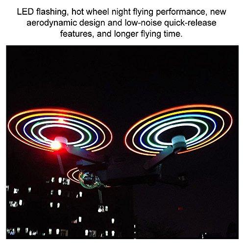 goolrc 2 par led flash lownoise helice de liberacion rapida