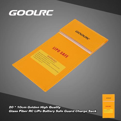 goolrc 20 * 10cm dorado fibra vidrio alto calidad dorado rc