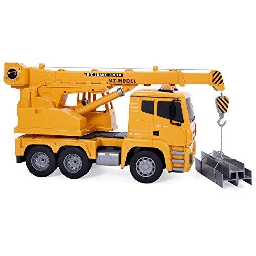 goplus 1/18 5ch control remoto rc crane heavy construction
