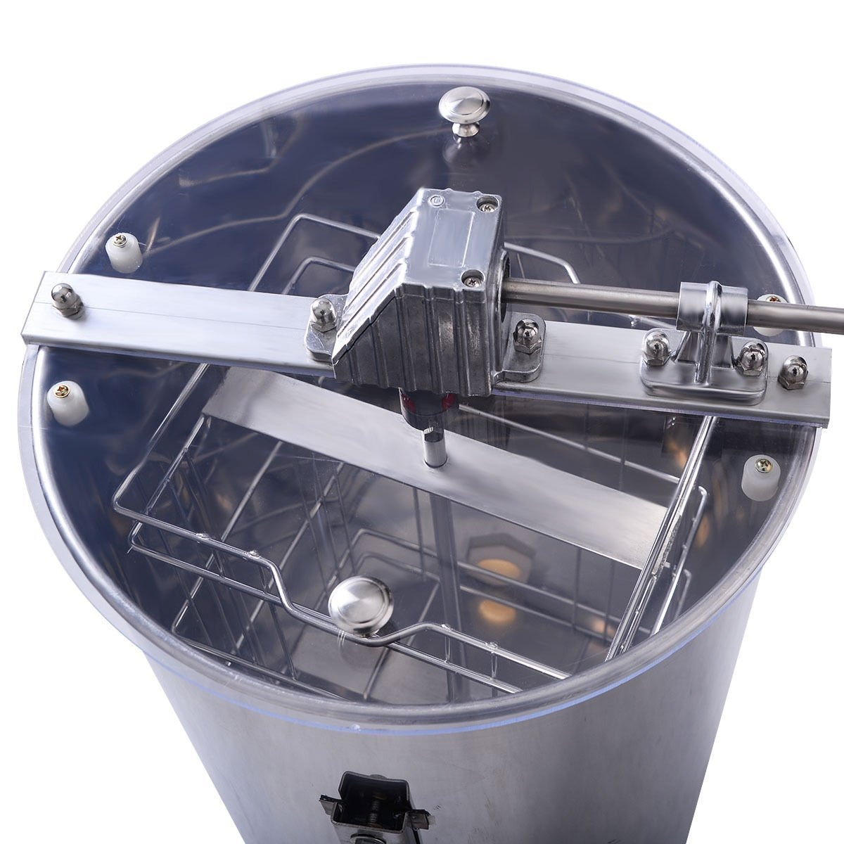 Goplus Grande 2 Encuadre Miel Extractor Apicultura Equipos D ...