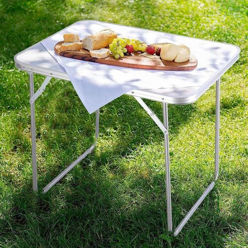 goplus portátil mesa de picnic para 4 personas plegable de a