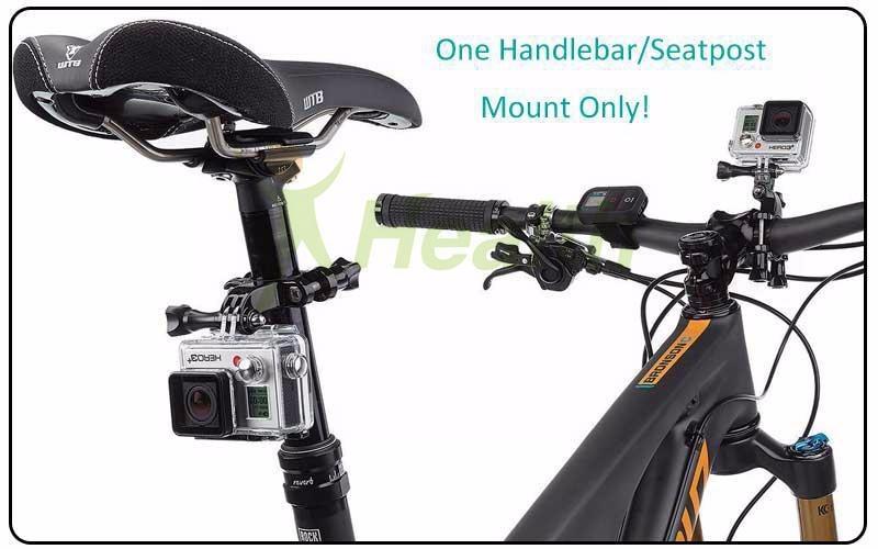 3a5ff446f Gopro 4 5 6 7 Handlebar Hero Suporte Mount Bike - Acessórios - R  93 ...