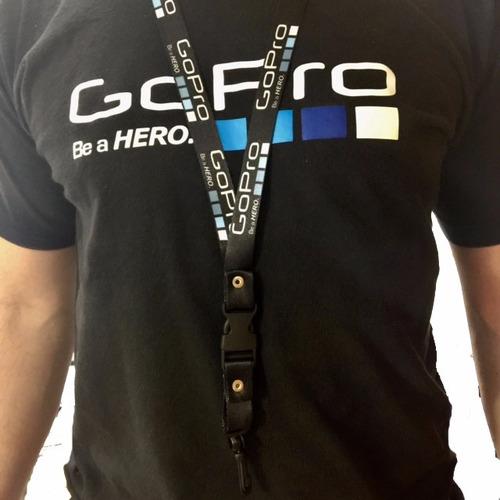 gopro 5 neck lanyard -tienda física autorizada- langp